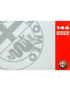 1995 ALFA ROMEO 146 INSTRUCTIEBOEKJE NEDERLANDS