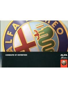 2006 ALFA ROMEO SPIDER INSTRUCTIEBOEKJE FRANS