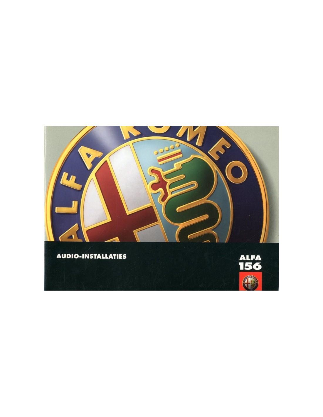 2002 alfa romeo 156 audio owners manual dutch rh autolit eu Alfa Romeo 164 Alfa Romeo 4C