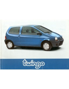 1996 RENAULT TWINGO OWNERS MANUAL DUTCH