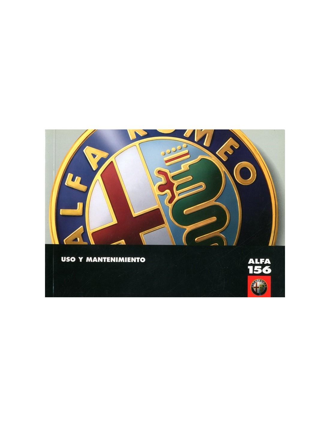 1997 ALFA ROMEO 156 OWNERS MANUAL SPANISH