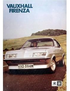 1974 VAUXHALL FIRENZA LEAFLET NEDERLANDS