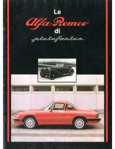 1984 ALFA ROMEO DI PININFARINA BROCHURE ITALIAANS