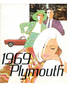 1969 PLYMOUTH PROGRAMMA BROCHURE FRANS
