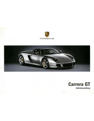 2005 porsche carrera gt owners manual german rh autolit eu Paul Walker Carrera GT Paul Walker Carrera GT