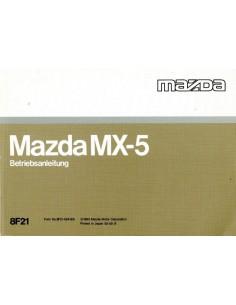 1993 MAZDA MX-5 INSTRUCTIEBOEKJE DUITS