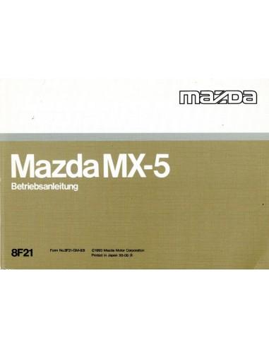 1993 mazda mx 5 owners manual handbook german rh autolit eu 2010 mazda mx 5 owners manual 2006 mazda mx 5 owners manual