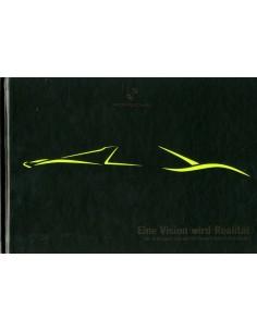 2012 PORSCHE 918 SPYDER & 911 TURBO S EDITION 918 SPYDER HARDCOVER BROCHURE DUITS