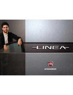 2011 FIAT LINEA ACCESSOIRES BROCHURE BRAZILIAANS