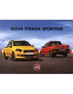 2010 FIAT NOVO STRADA SPORTING LEAFLET BRAZILIAANS