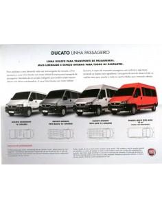 2010 FIAT DUCATO LEAFLET BRAZILIAANS