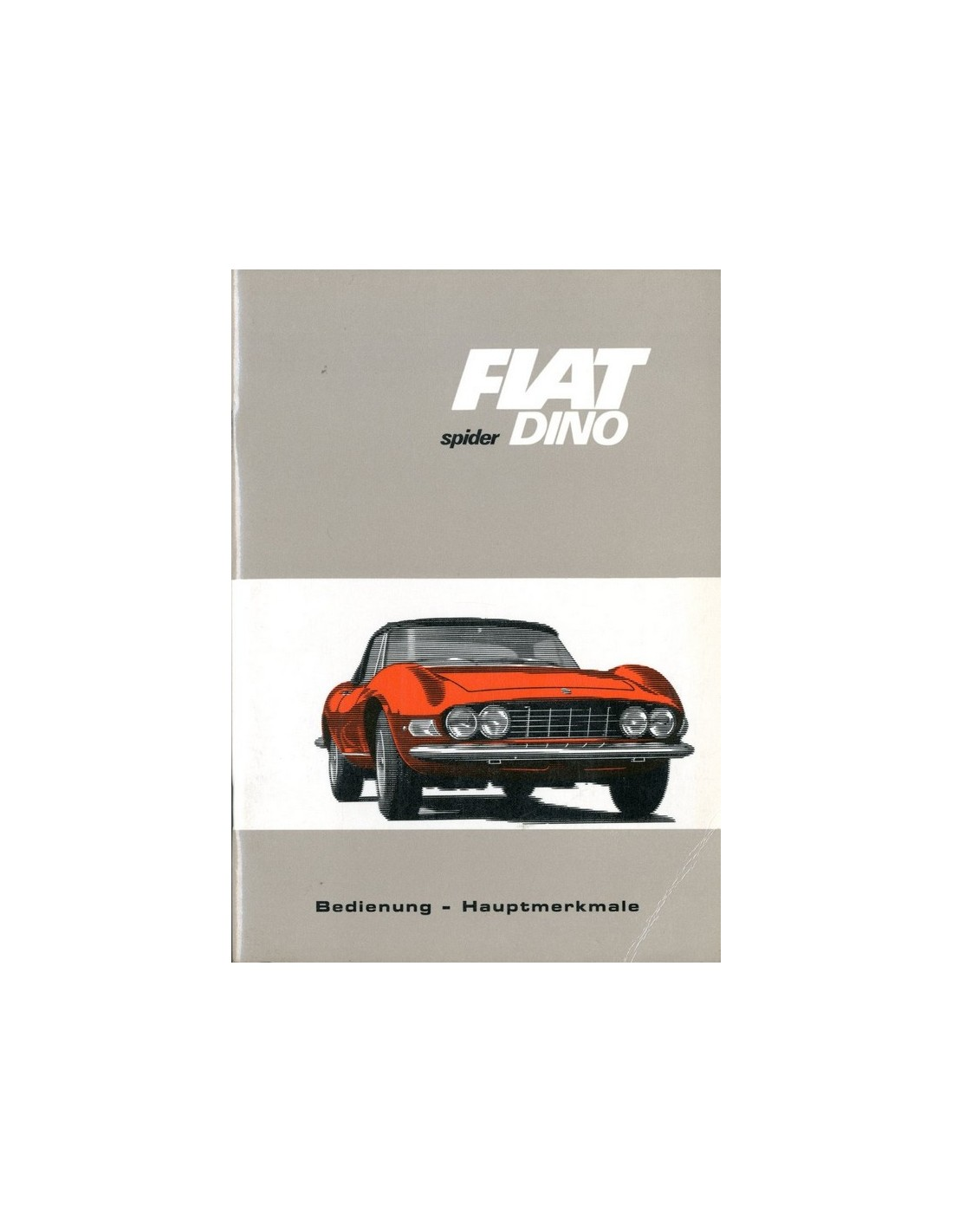 1967 fiat dino spider owners manual german fiat 124 spider owners manual fiat 124 spider repair manual