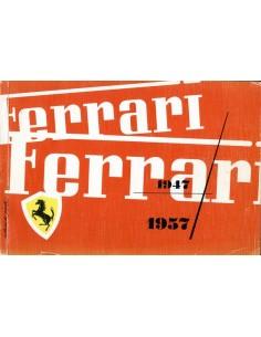 1957 FERRARI JAARBOEK ITALIAANS