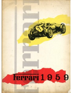 1959 FERRARI JAARBOEK ITALIAANS