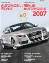 2007 AUTOMOBIl REVUE JAHRESKATALOG DEUTSCH FRANZÖSISCH
