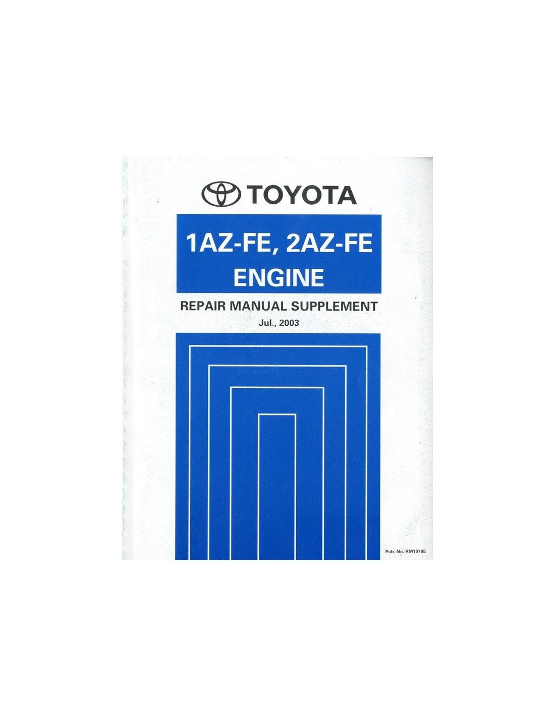 2003 toyota rav4 1az fe 2az fe engine repair manual 2003 toyota rav4 repair manual free download 2003 toyota rav4 service manual pdf