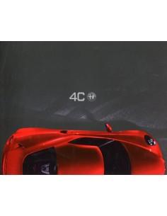 2013 ALFA ROMEO 4C BROCHURE DUITS