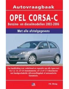 2003 - 2006 OPEL CORSA C VRAAGBAAK NEDERLANDS