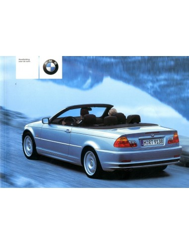 2001 bmw 3 series convertible owners manual handbook dutch rh autolit eu 2001 bmw owners manual x5 2001 bmw service manual