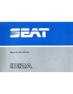 1984 SEAT IBIZA INSTRUCTIEBOEKJE SPAANS