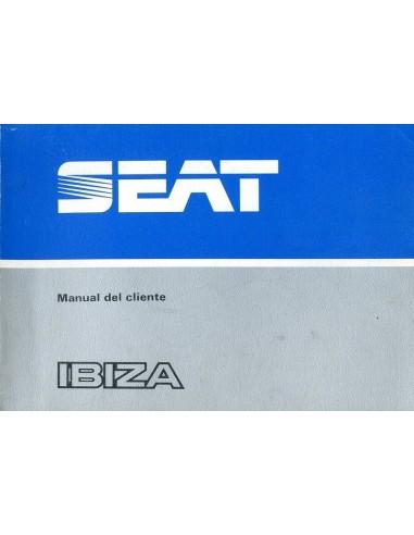 1984 seat ibiza owners manual spanish rh autolit eu seat ibiza mk3 service manual seat ibiza owners manual 2007