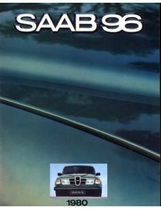 1980 SAAB 96 BROCHURE NEDERLANDS