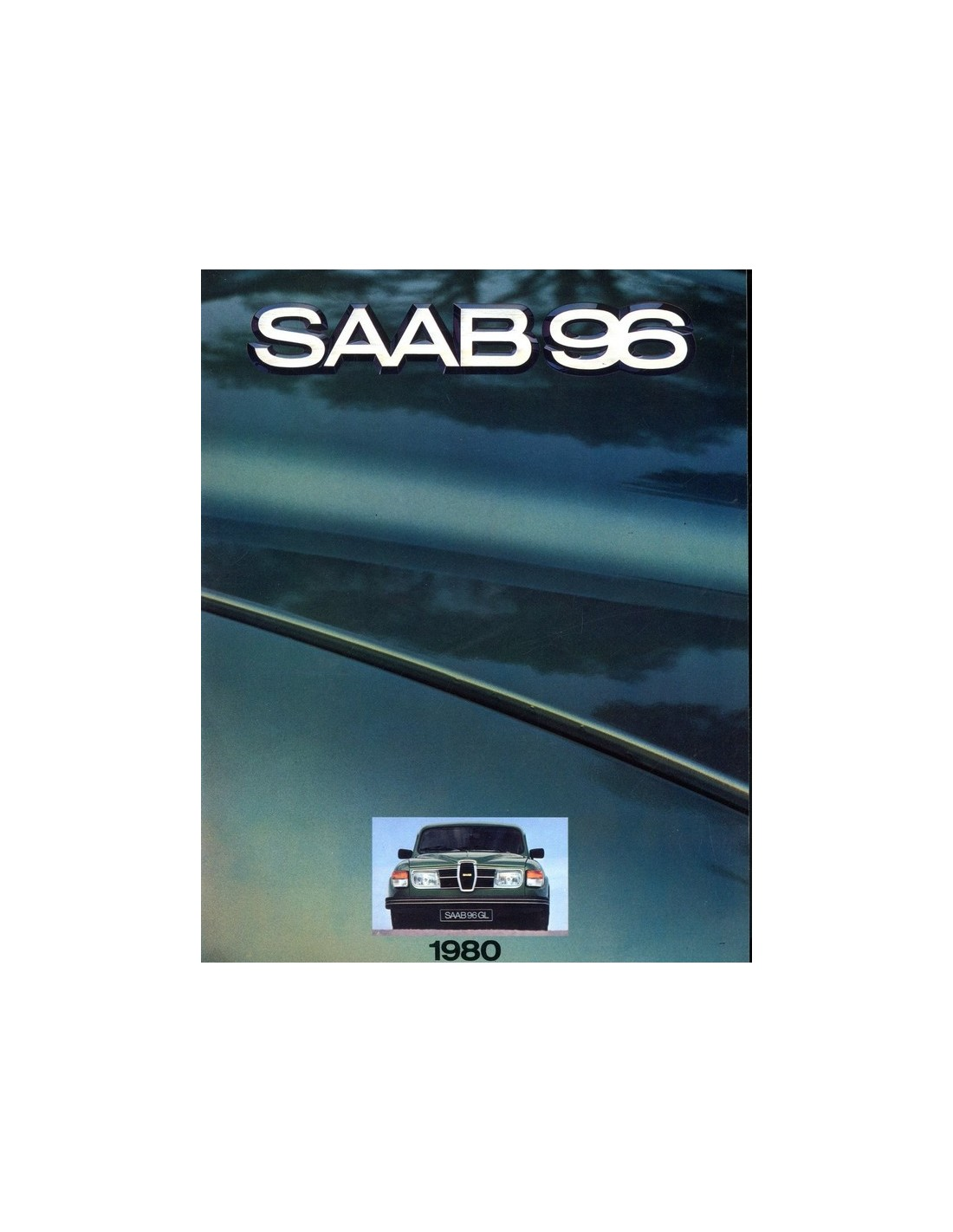 Bmw Z3 Brochure: 1980 SAAB 96 BROCHURE NEDERLANDS