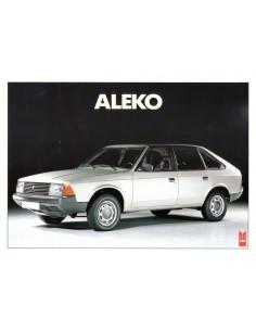 1988 ALEKO 141 LEAFLET FRANS