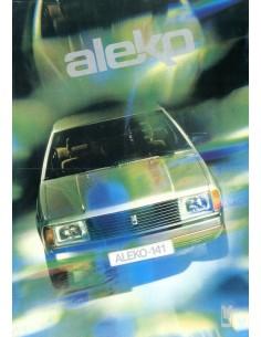1988 ALEKO 141 LEAFLET NEDERLANDS