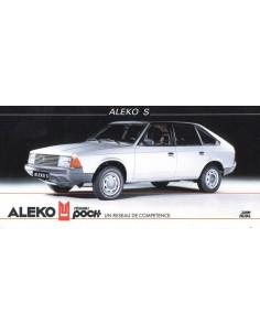 1991 ALEKO 141 BROCHURE FRANS