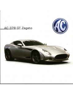 2012 AC 378 GT ZAGATO BROCHURE ENGELS