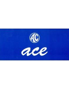 2000 AC ACE V8 BROCHURE ENGELS