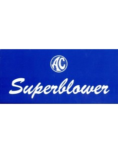 2000 AC SUPERBLOWER BROCHURE ENGELS
