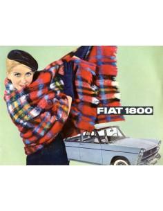 1961 FIAT 1800 / 2100 BROCHURE NEDERLANDS