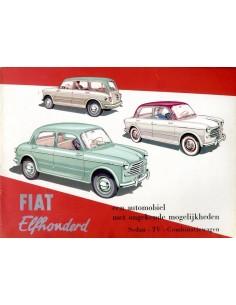 1953 FIAT 1100 BROCHURE NEDERLANDS