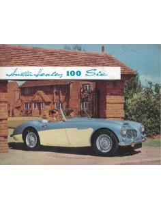 1958 AUSTIN HEALEY 100 SIX BROCHURE ENGELS
