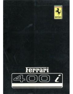 1979 FERRARI 400 I INSTRUCTIEBOEKJE 176/79