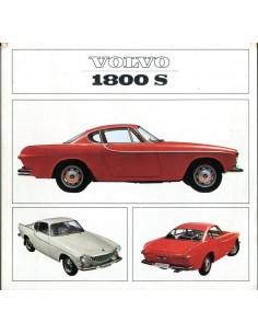 1965 VOLVO 1800 S BROCHURE NEDERLANDS