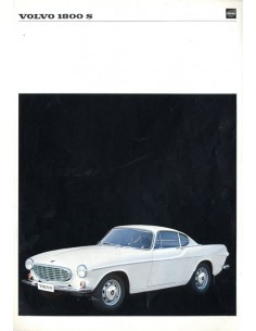 1967 VOLVO 1800 S LEAFLET DUITS