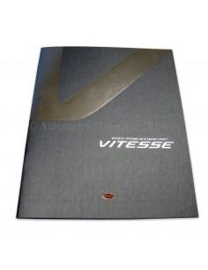 2012 BUGATTI EB 16.4 VEYRON GRAND SPORT VITESSE  KLANTEN BROCHURE ENGELS