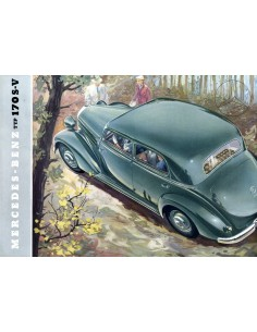 1953 MERCEDES BENZ TYPE 170 S-V BROCHURE DUITS