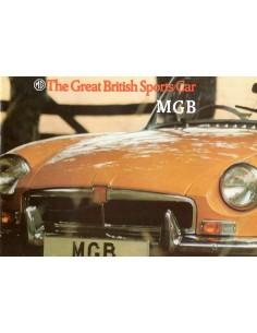 1973 MG MGB BROCHURE ENGELS