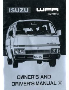 1982 ISUZU WFR INSTRUCTIEBOEKJE ENGELS