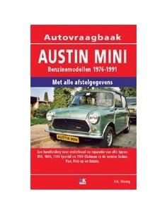 1976 - 1991 AUSTIN MINI BENZINE VRAAGBAAK NEDERLANDS