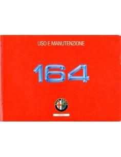 1991 ALFA ROMEO 164 INSTRUCTIEBOEKJE ITALIAANS
