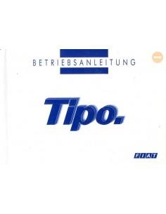 1994 FIAT TIPO INSTRUCTIEBOEKJE DUITS