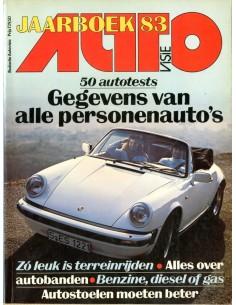 1983 AUTOVISIE JAARBOEK NEDERLANDS