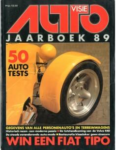1989 AUTOVISIE JAARBOEK NEDERLANDS
