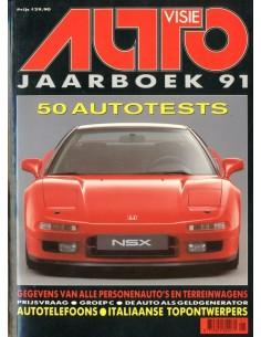 1991 AUTOVISIE JAARBOEK NEDERLANDS