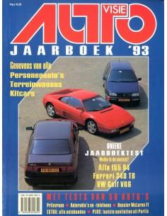 1993 AUTOVISIE JAARBOEK NEDERLANDS